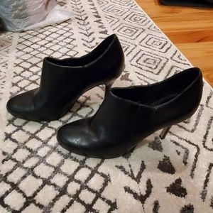 Cole Haan Black Stiletto ankle booties